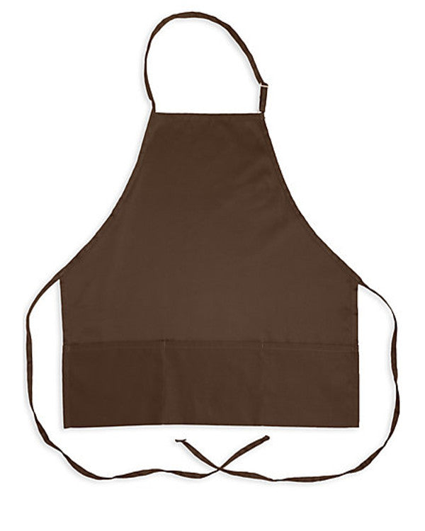 coffee bib apron, cafe server apron, fast food server apron, restaurant server bib apron