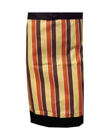 Bistro Apron with One Pocket Strips Design