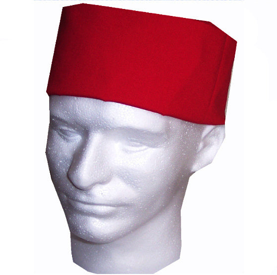 Chef Beanie Cap, red chef hat, red color chef hat, sushi chef hat, chef hat