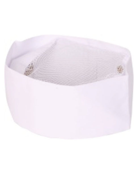 white chef hat, white screen top chef hat, chef hat