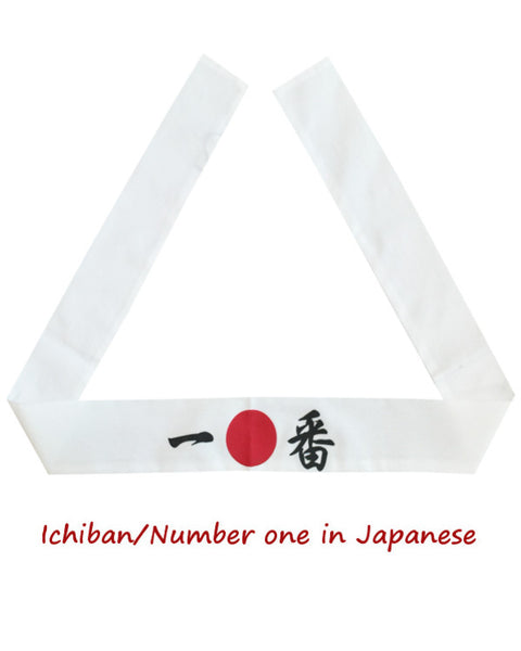 Ichiban Number One Japanese headband, headband