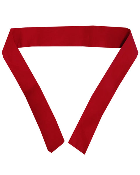 hibachi chef headband, hibachi chef red headband, red tie