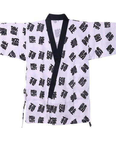 Japanese sushi chef coat, sushi chef coat, sushi bar server coat