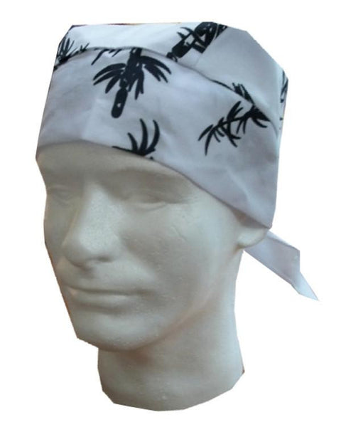 bamboo head wrap, sushi chef head wrap, hibachi chef head wrap