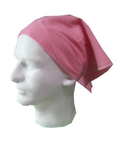 Pink head wrap, breast cancer awareness gift, event head wrap