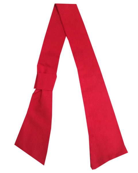 necktie with knot, necktie red