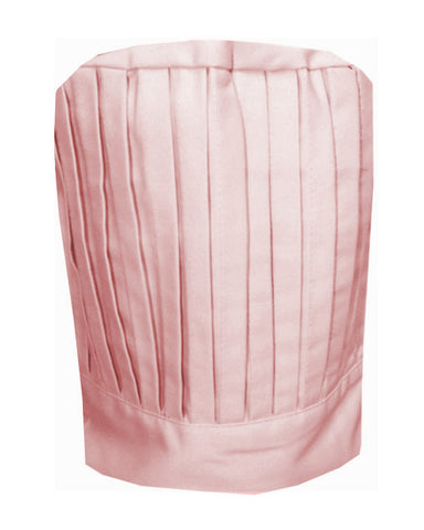Solid Top Chef Tall Hat Pink Color