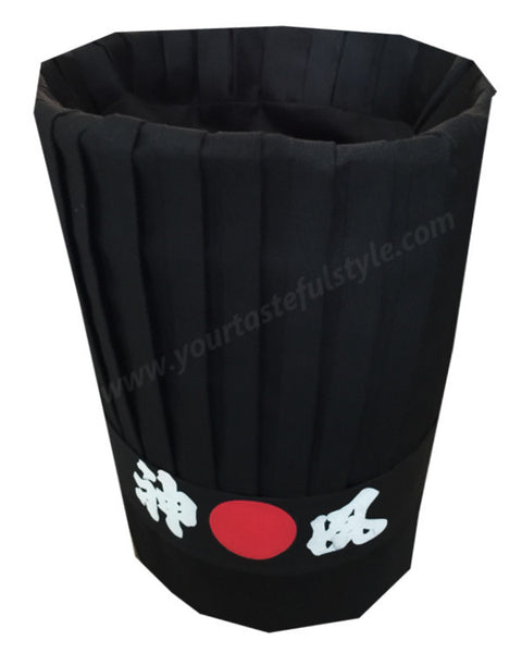 Hibachi chef hat set, Teppan chef hat set, Hibachi tall hat sets