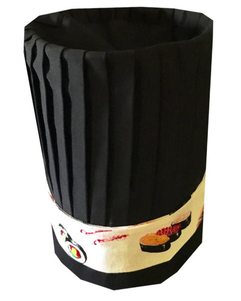 Popular Hibachi Chef Tall Hat Set - 3pcs