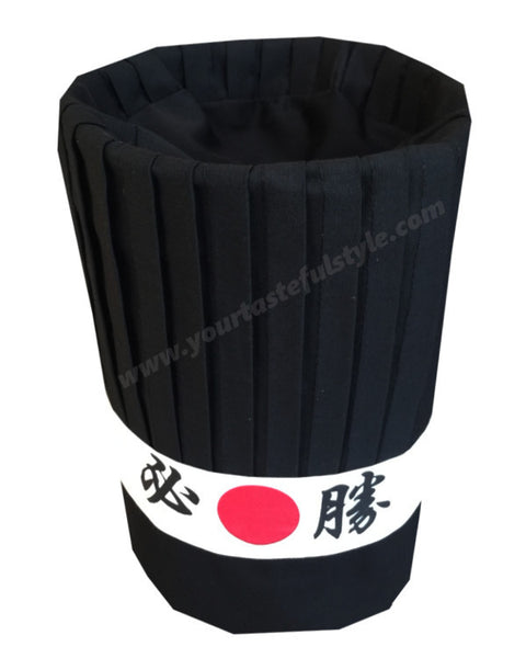 hibachi chef hat sets, Teppanyaki chef hat set, Japanese grill chef hat set