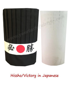 hibachi chef tall hat sets, hibachi chef hat sets, hibachi chef hat