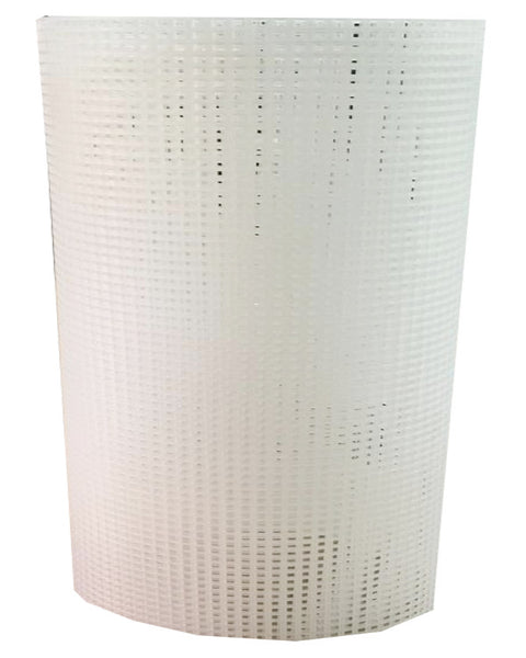 clear plastic canvas net, clear canvas sheet, canvas screen net