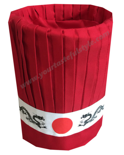 Popular Hibachi Chef Tall Hat Set - 3 pieces