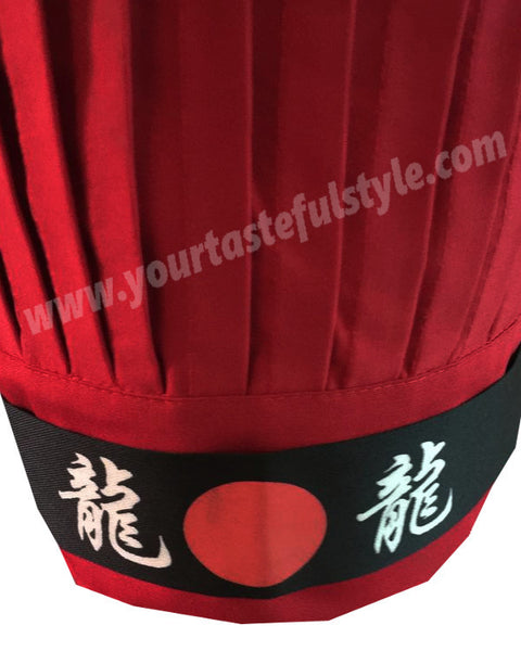 hibachi chef hat set, hibachi chef tall hat, Teppan Chef Hat Sets