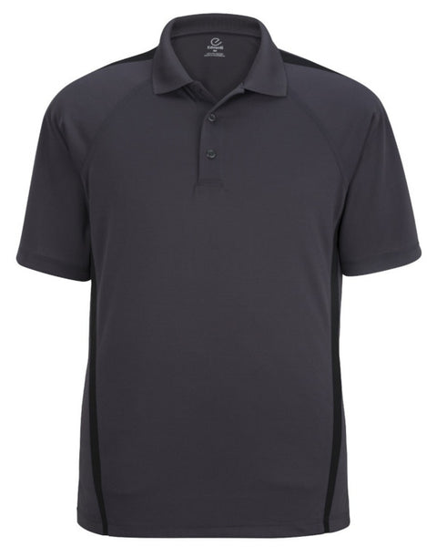 grey and black polo shirt, polo shirt, short sleeve men's polo, men's polo