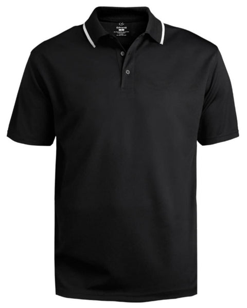 black and white polo shirt, event polo, sport polo