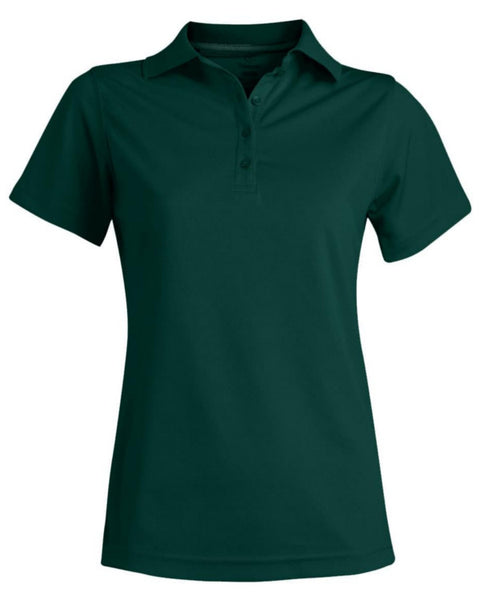 hunter green polo, worker polo shirt