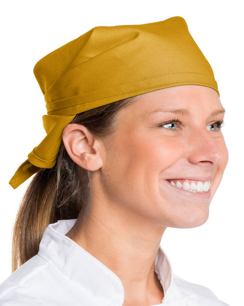 biker head wrap, chef neckerchief, chef headwarp