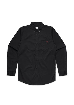 BLVCK Button up, Shirt, HLDFST, HLDFST  - hold fast syndicate