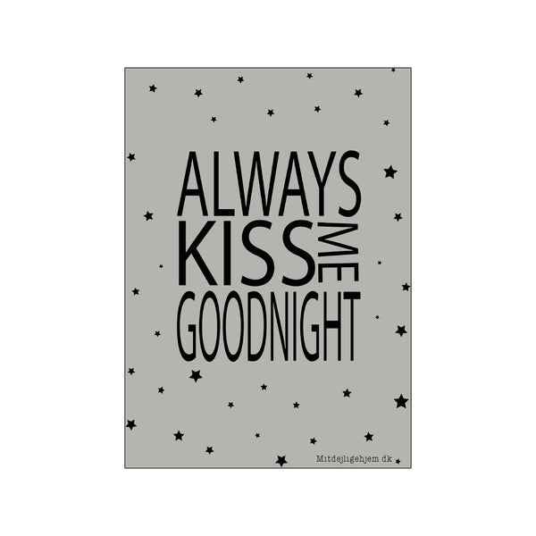 Always kiss me goodnight - dreng