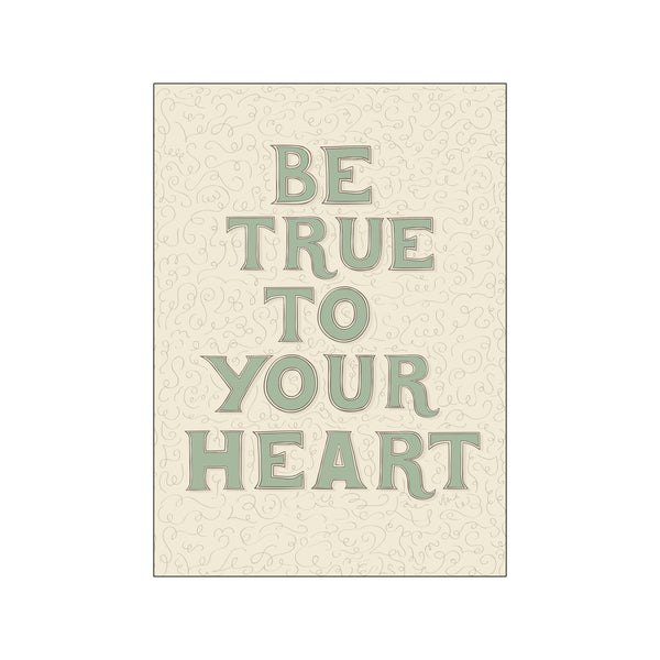 Be true to your heart (grøn)