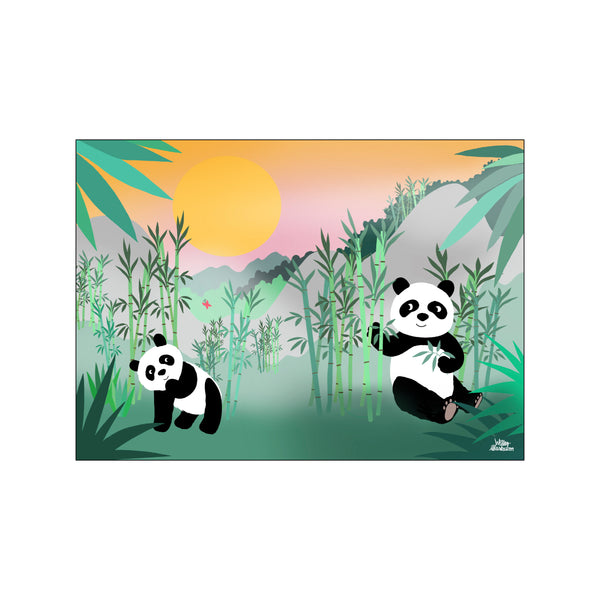 Peaceful Pandas