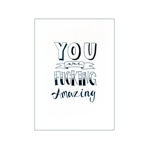 You are fucking amazing