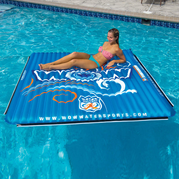Extended Water Floating Pool Mat 6x6 - Kids Eye Candy
