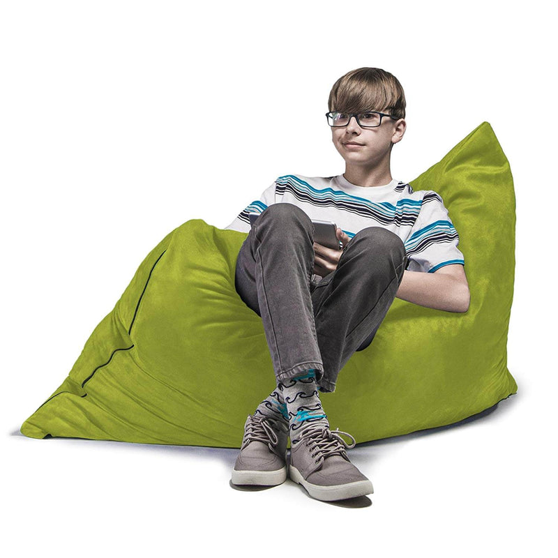 Bean Bag Kids Lounge Chair Pillow 3.5' Made in USA - Kids Eye Candy