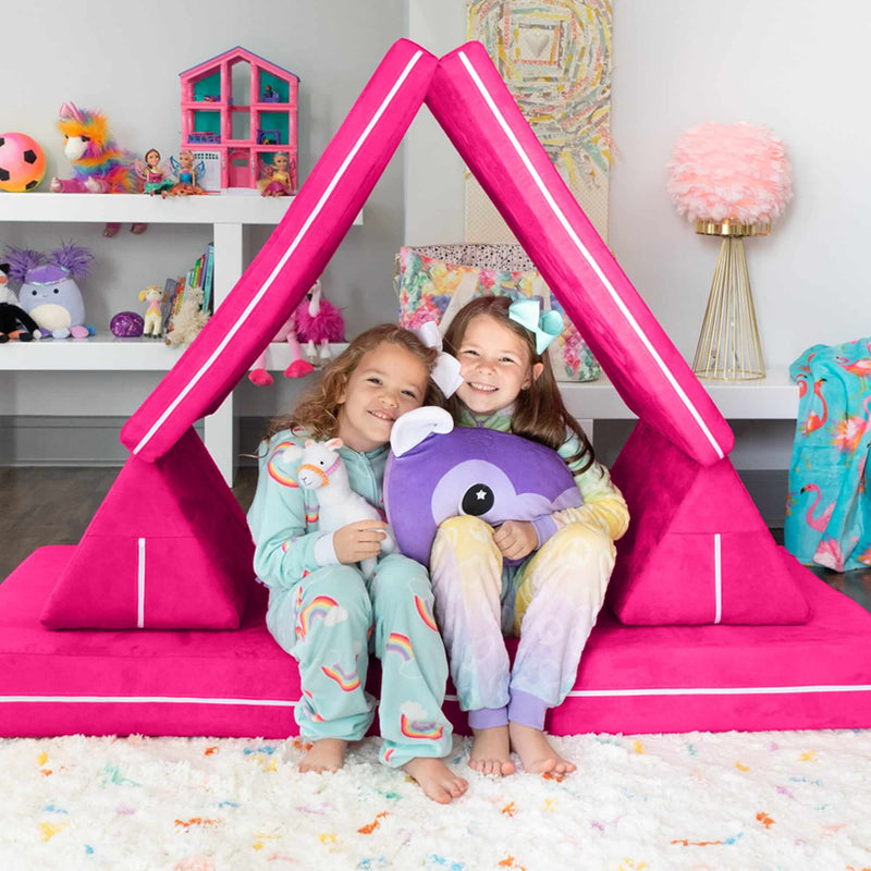 Zipline Playscape Kids Play House Fort Indoor Furniture - Kids Eye Candy