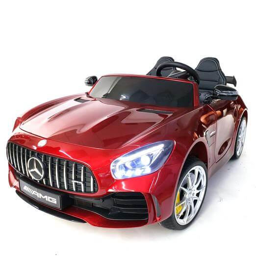 Mercedes GTR AMG 12V Ride-On Two Seater with Parental Remote MP3 - Kids Eye Candy