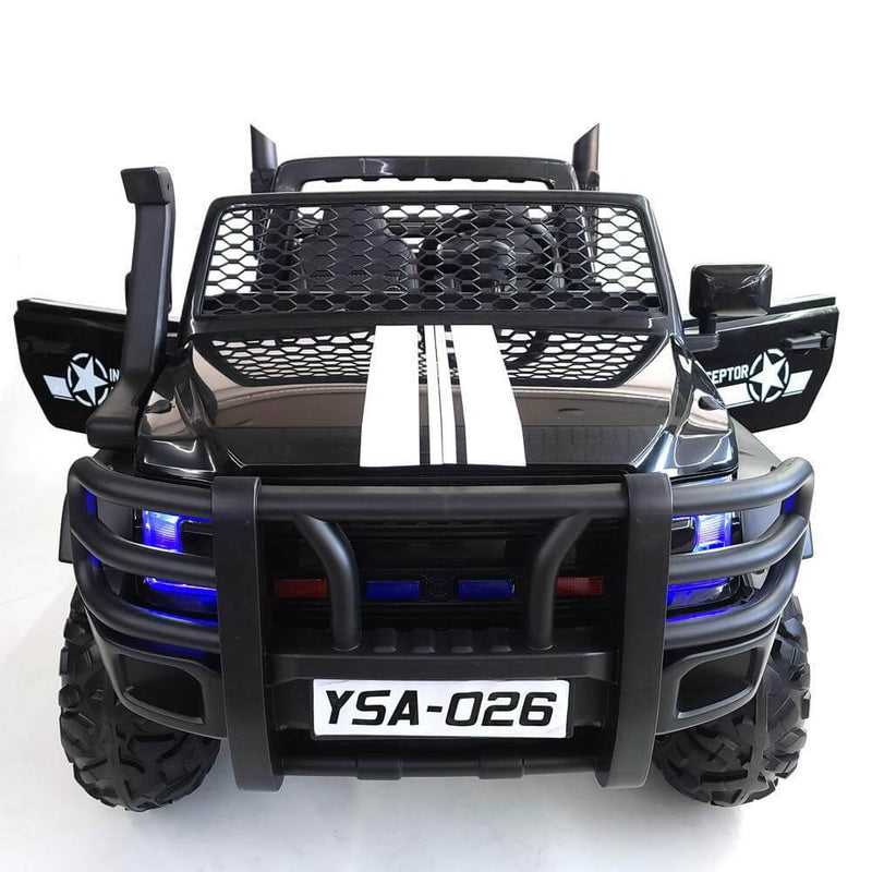Monster Truck Kids 24V Ride-On Two Seater with Parental Remote MP3 LED - Kids Eye Candy