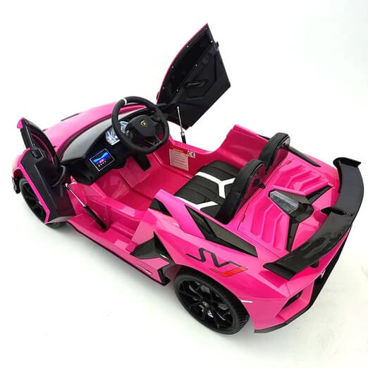 Lamborghini Huracan Kids 12V Ride-On Car w/ Parent Remote, MP3, LED Lights - Kids Eye Candy