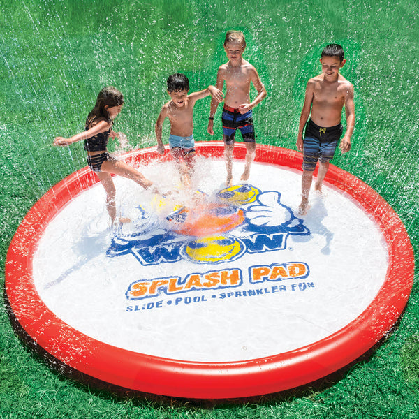 Splash Bad Sprinkler Kiddie Pool - Kids Eye Candy