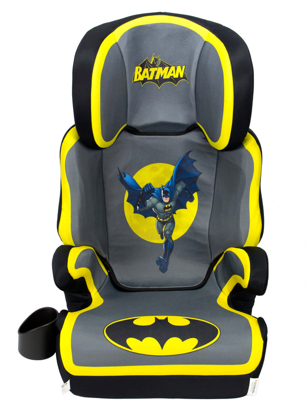 DC Comic Batman High Adjustable Back Booster Car Seat - Kids Eye Candy