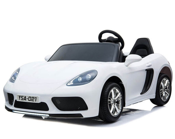 24V Licensed Kids Luxury Super Car Panamera Two-Seater 180W Remote Control Bluetooth MP3 - Kids Eye Candy