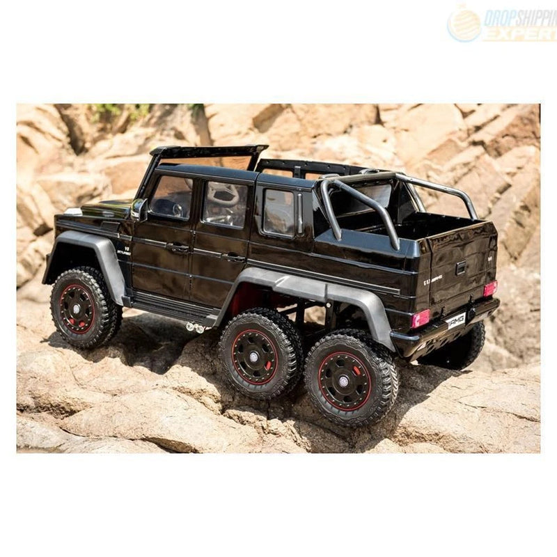 24V Mercedes G63 Ride-On Six Wheel Drive with Parent Remote MP3 LED Wheels - Kids Eye Candy