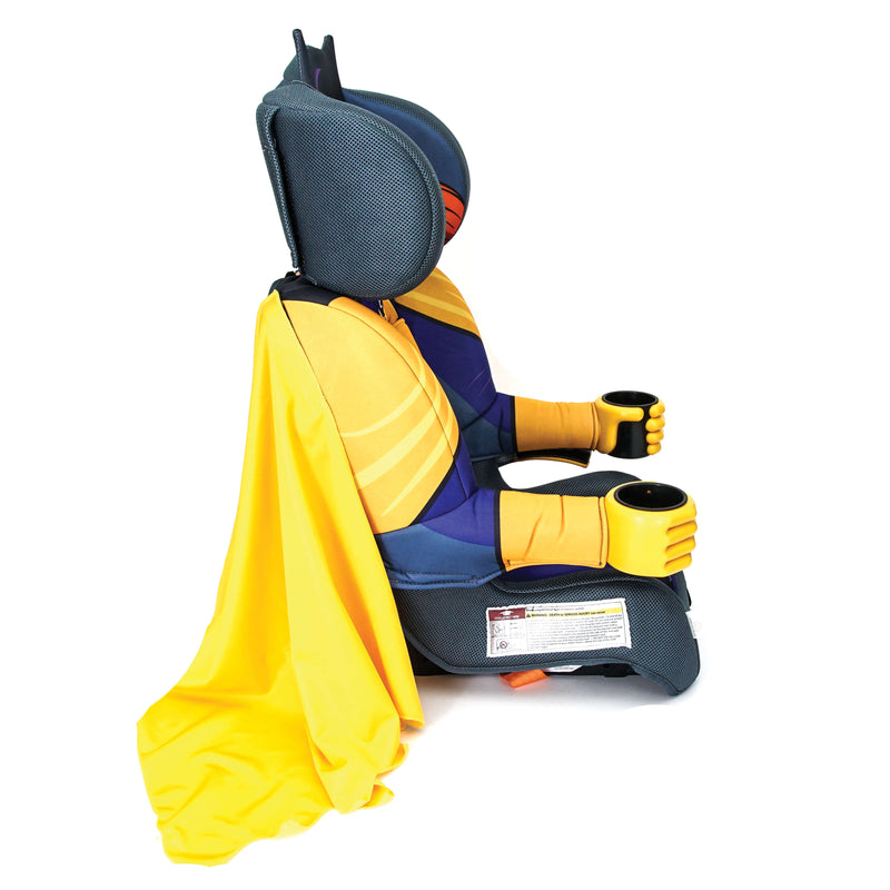 Kids Batgirl Combination Booster Car Seat W/ Cape - Kids Eye Candy