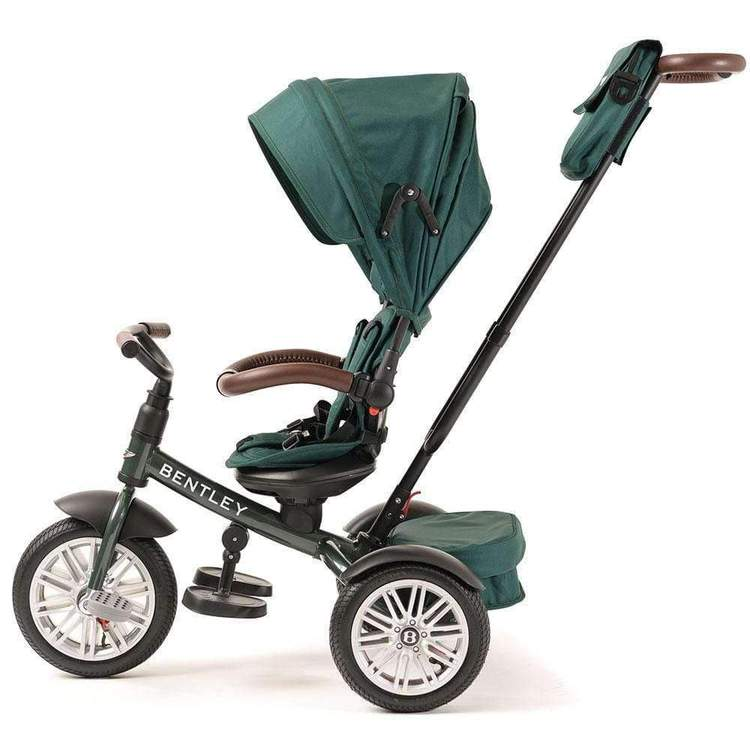 Bentley Trike Ride-On Stroller Convertible Pedal Tricycle w/ Umbrella - Kids Eye Candy