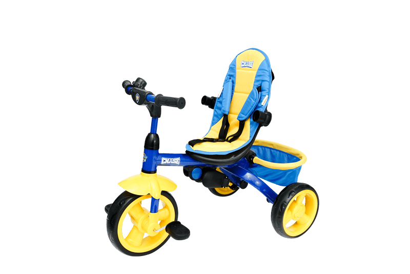 Kids Nickelodeon Paw Patrol Chase 4-in-1 Push and Ride Stroller Tricycle - Kids Eye Candy