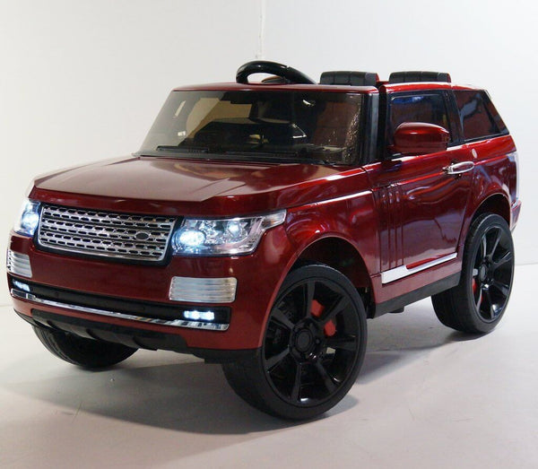 Range Rover SUV Kids 12V Ride-On Car Two-Seater w/ Parental Remote, MP3, LED Lights - Kids Eye Candy