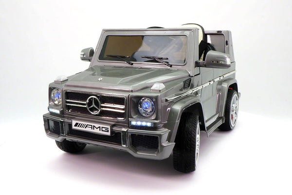 12V Mercedes G65 Truck AMG Kids Ride-On Car w/ MP3, Remote, LED Lights - Kids Eye Candy