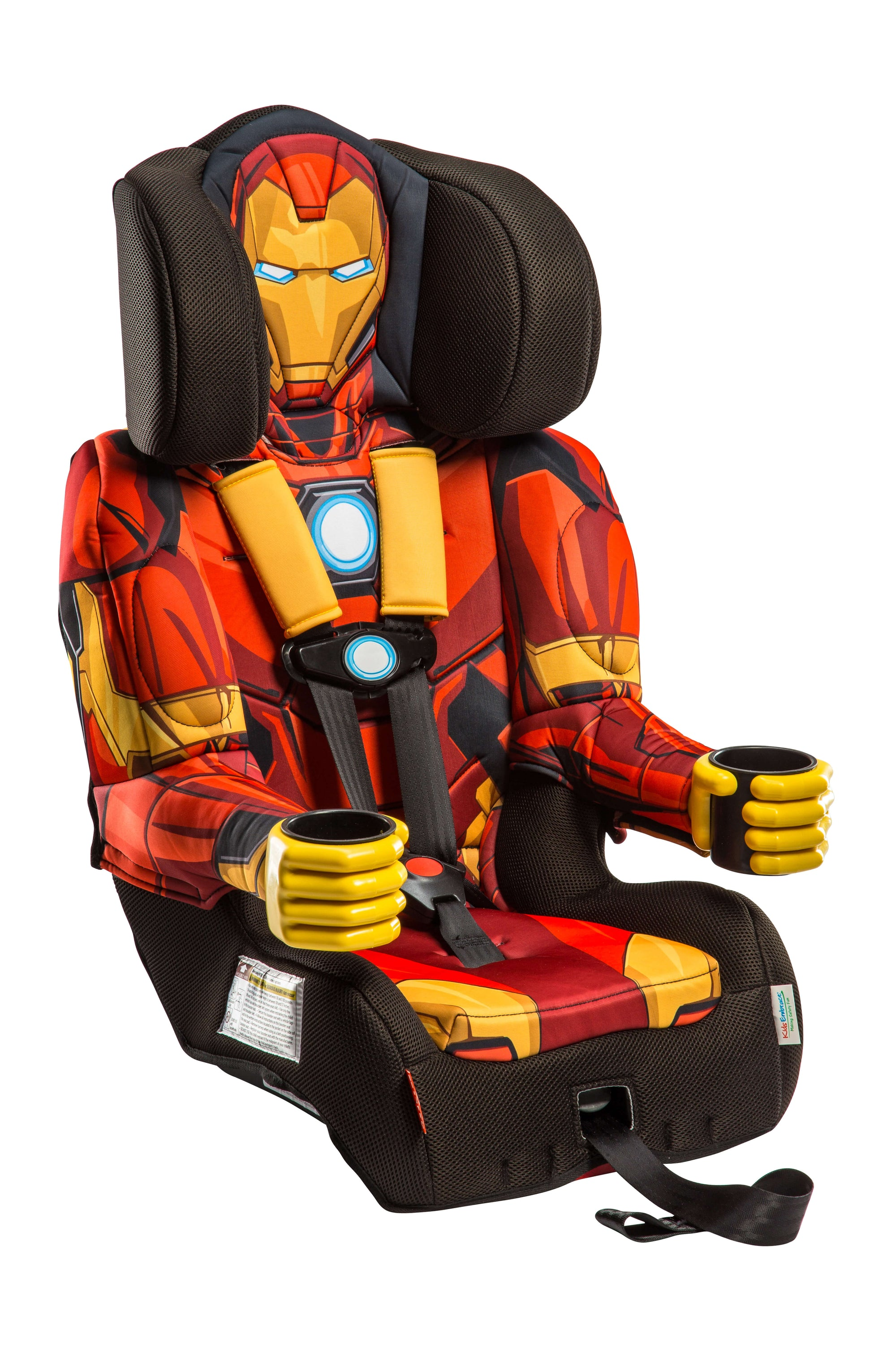 Astonishing Kids Avengers Iron Man Combo Harness Booster Car Seat Pabps2019 Chair Design Images Pabps2019Com