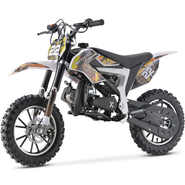 MotoTec 50cc Demon Kids Gas Dirt Bike Motorcycle - Kids Eye Candy