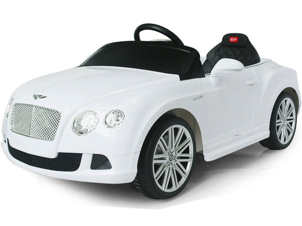 Bentley GTC Continental 12V Ride-On Electric Car with Remote MP3 LED Lights - Kids Eye Candy