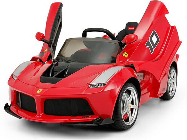 12V Licensed Kids Ferrari Spider Ride-On Vehicle With Parent Remote Butterfly Doors MP3 LED Lights - Kids Eye Candy