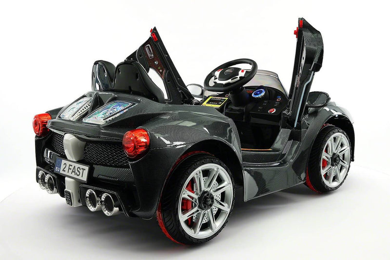 Spider GT 12V Ride-On Car w/ Parental Remote, MP3, Butterfly Doors, LED Lights - Kids Eye Candy