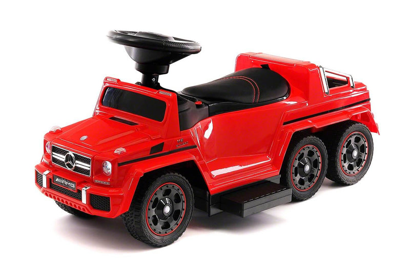 Mercedes GL63 12V Kids Ride-On Convertible Push Car w/ MP3 LED Lights - Kids Eye Candy
