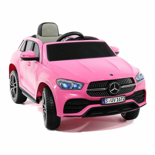 Mercedes Kids 12V GLE450 Ride-On Car Parental Remote, MP3, Leather Seats, LED Lights - Kids Eye Candy
