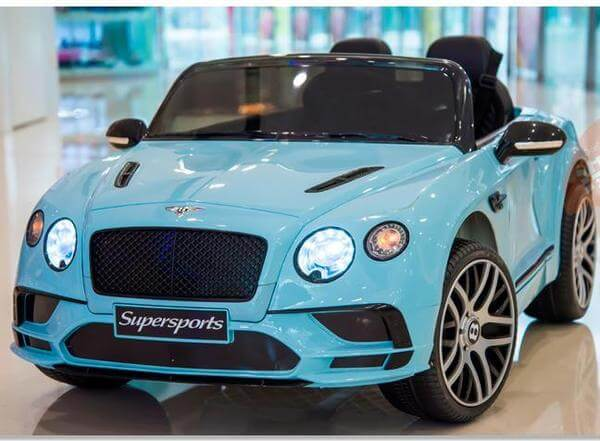 Bentley Continental SuperSports Ride-On 12V Electric Kids Car - Kids Eye Candy